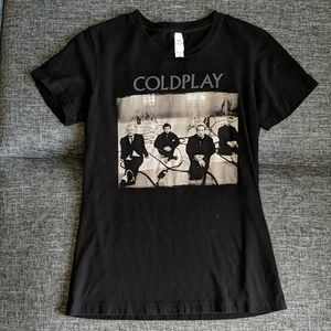 EUC Coldplay Band Tee